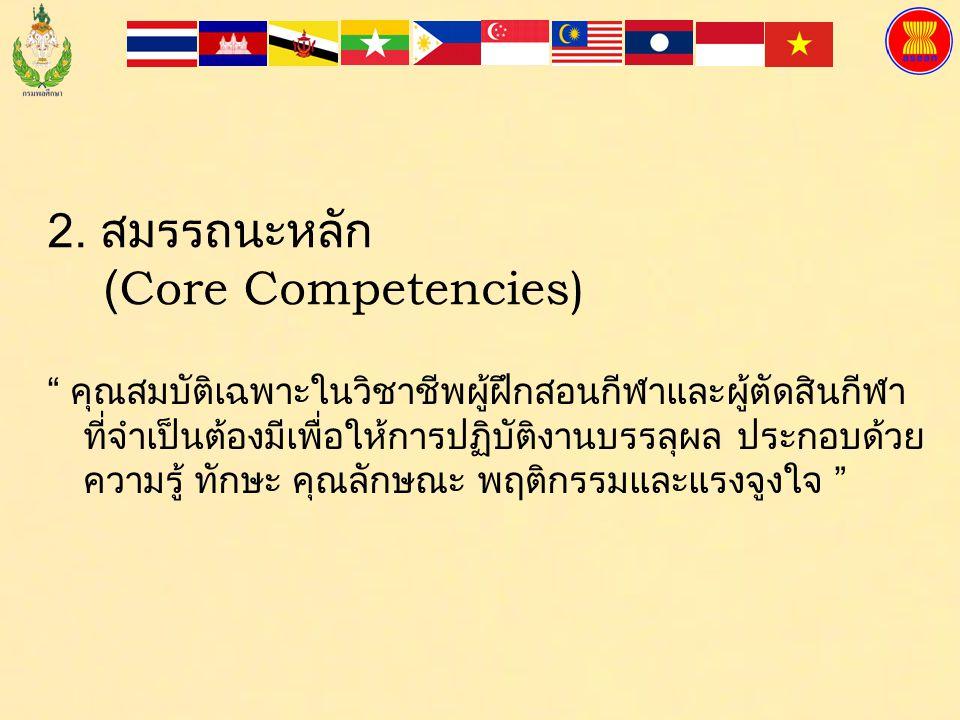 2. สมรรถนะหลัก (Core Competencies)