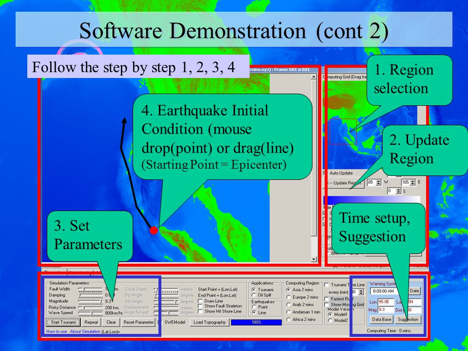 Software Demonstration (cont 2)