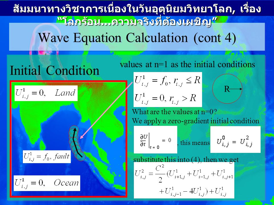 Wave Equation Calculation (cont 4)