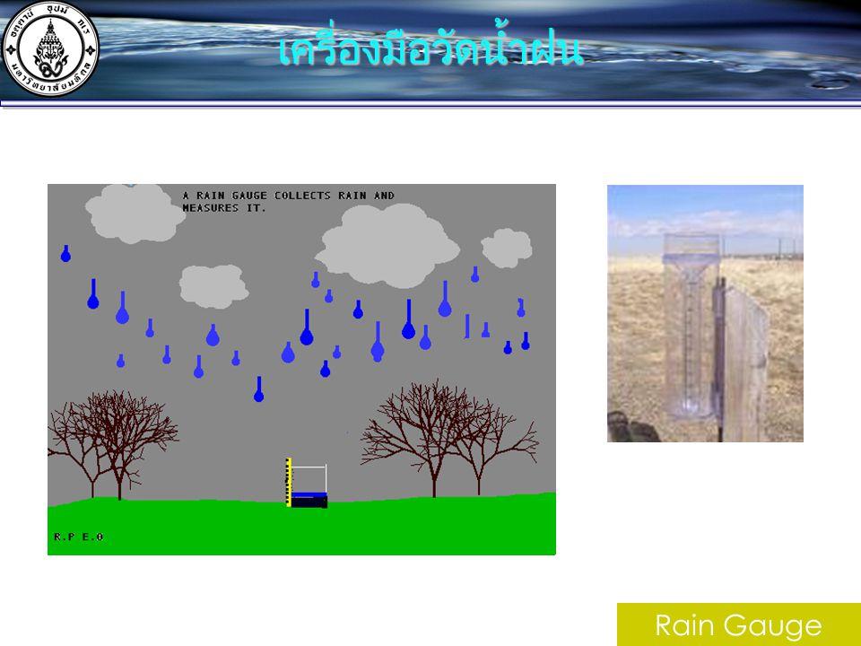 เครื่องมือวัดน้ำฝน Rain Gauge