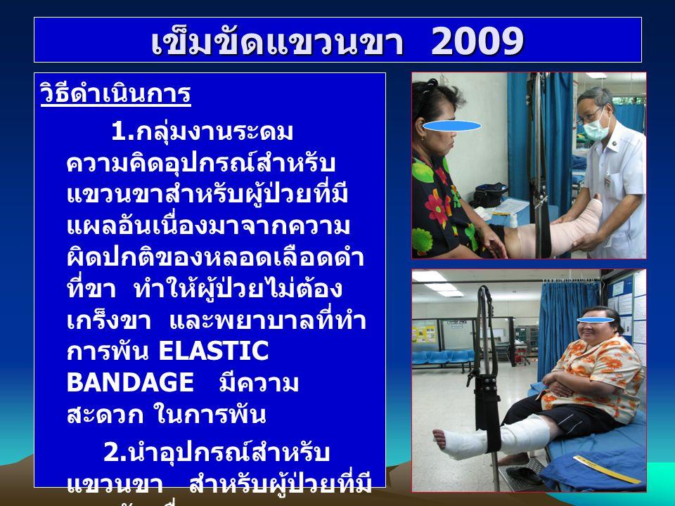 เข็มขัดแขวนขา 2009 วิธีดำเนินการ