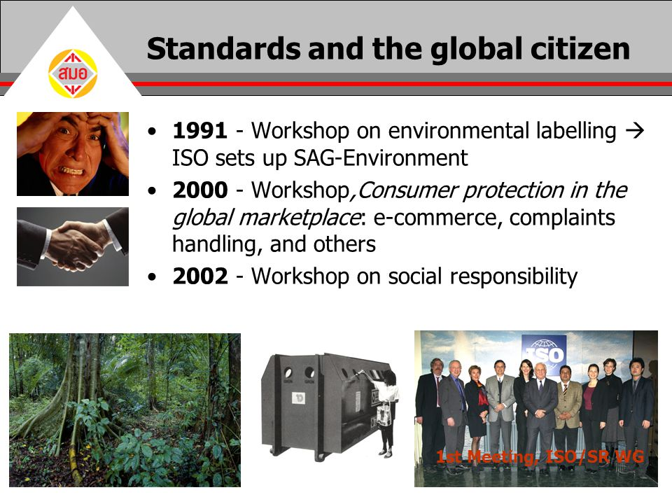 Standards and the global citizen