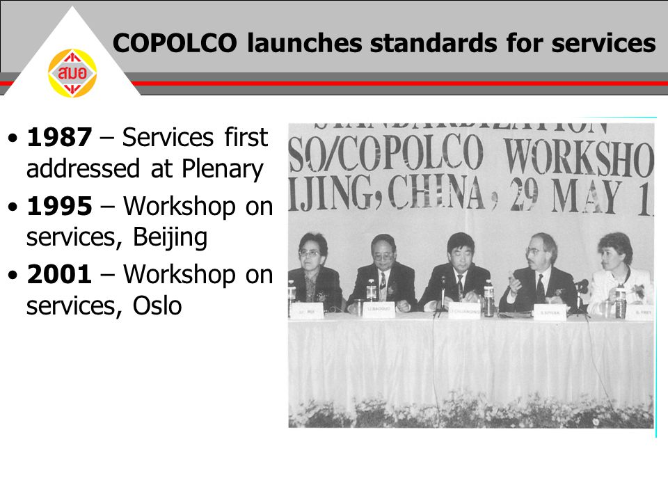 COPOLCO launches standards for services