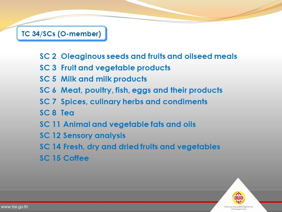 SC 2 Oleaginous seeds and fruits and oilseed meals