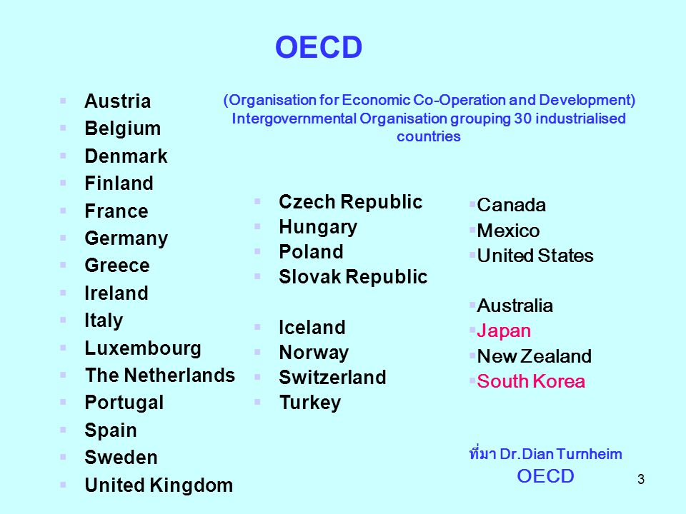 OECD Austria Belgium Denmark Finland France Germany Greece Ireland