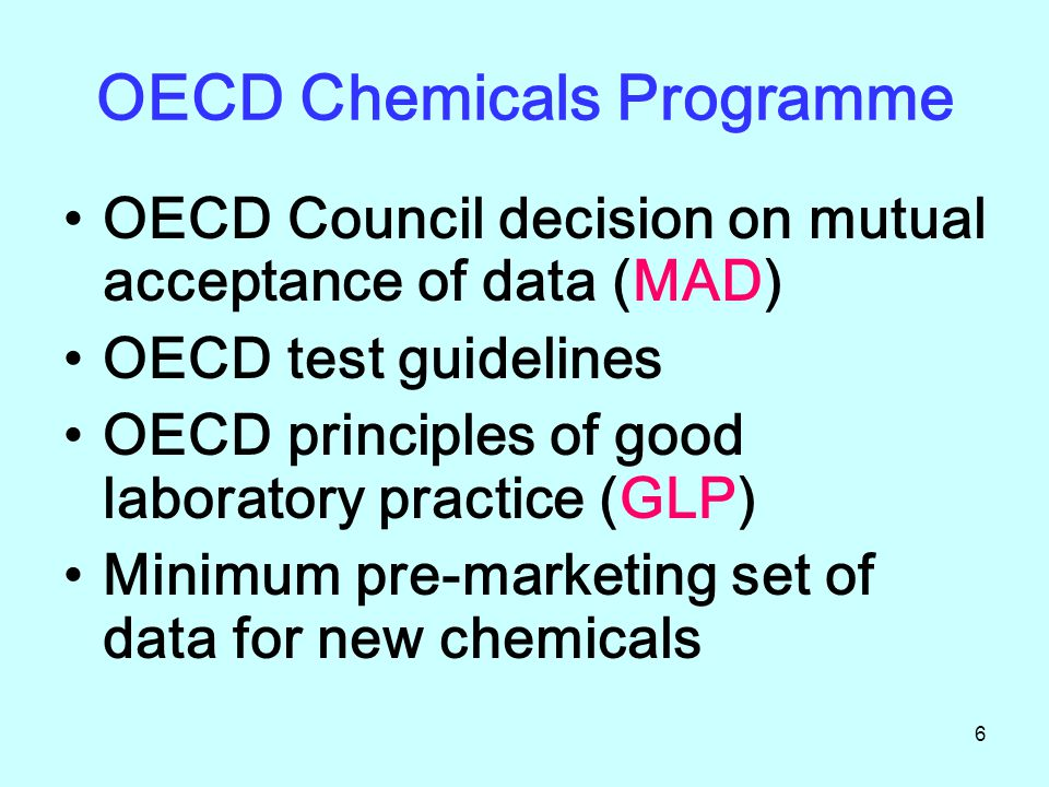 OECD Chemicals Programme