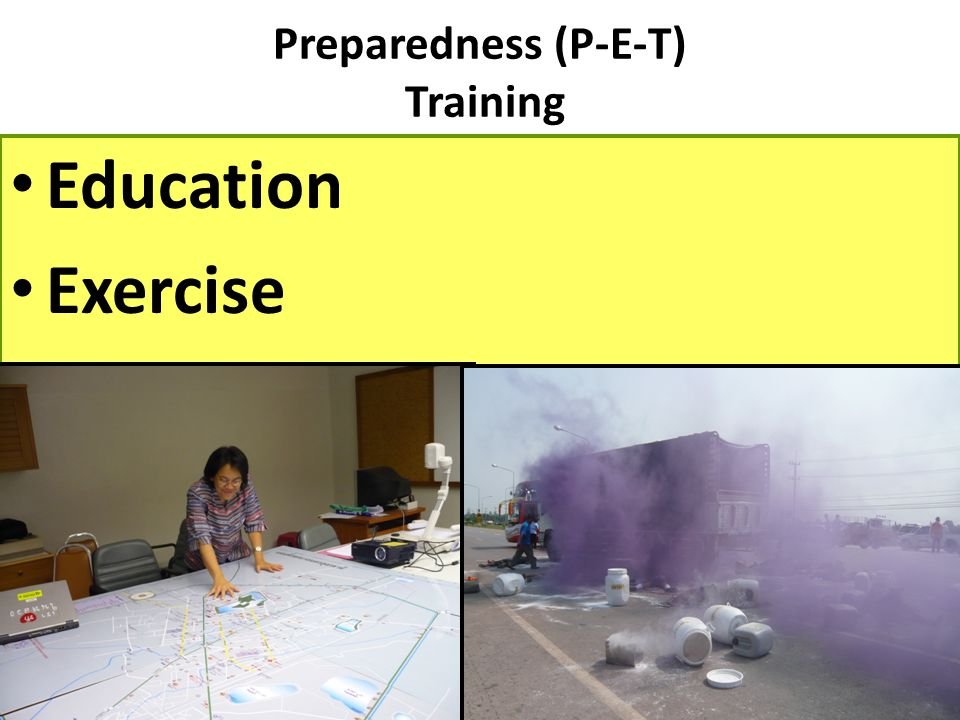 Preparedness (P-E-T) Training