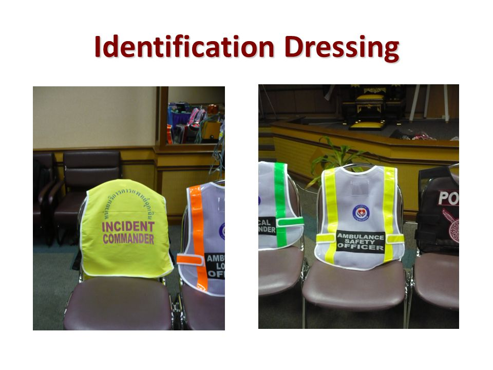 Identification Dressing