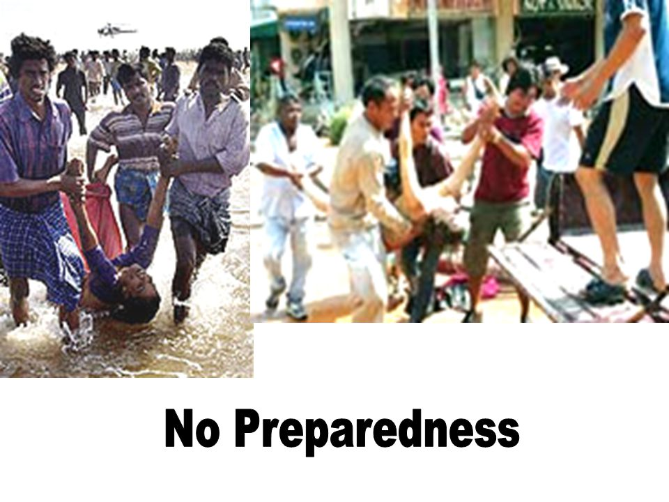 No Preparedness