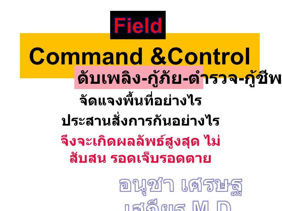 Command &Control Field อนุชา เศรษฐเสถียร M.D.