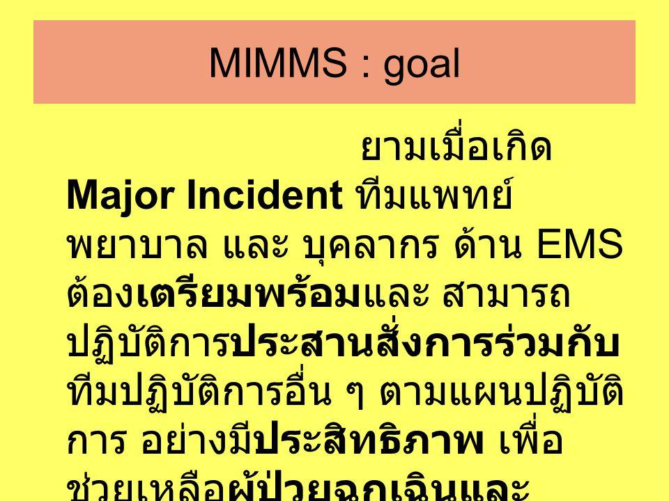 MIMMS : goal