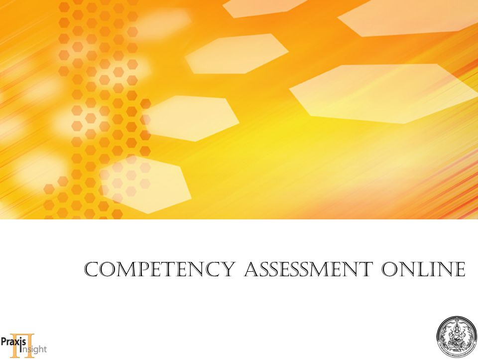 Competency Assessment online