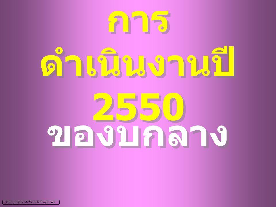 การดำเนินงานปี 2550 ของบกลาง