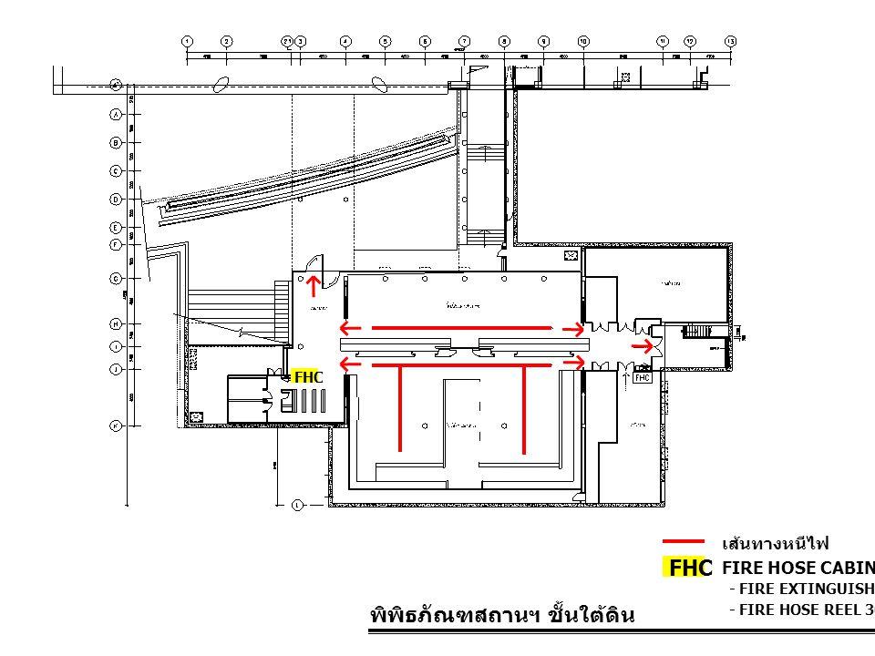 พิพิธภัณฑสถานฯ ชั้นใต้ดิน