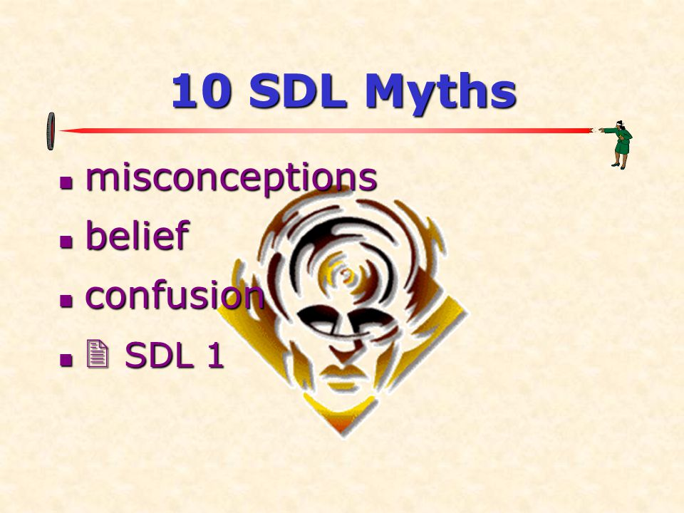 10 SDL Myths misconceptions belief confusion  SDL 1