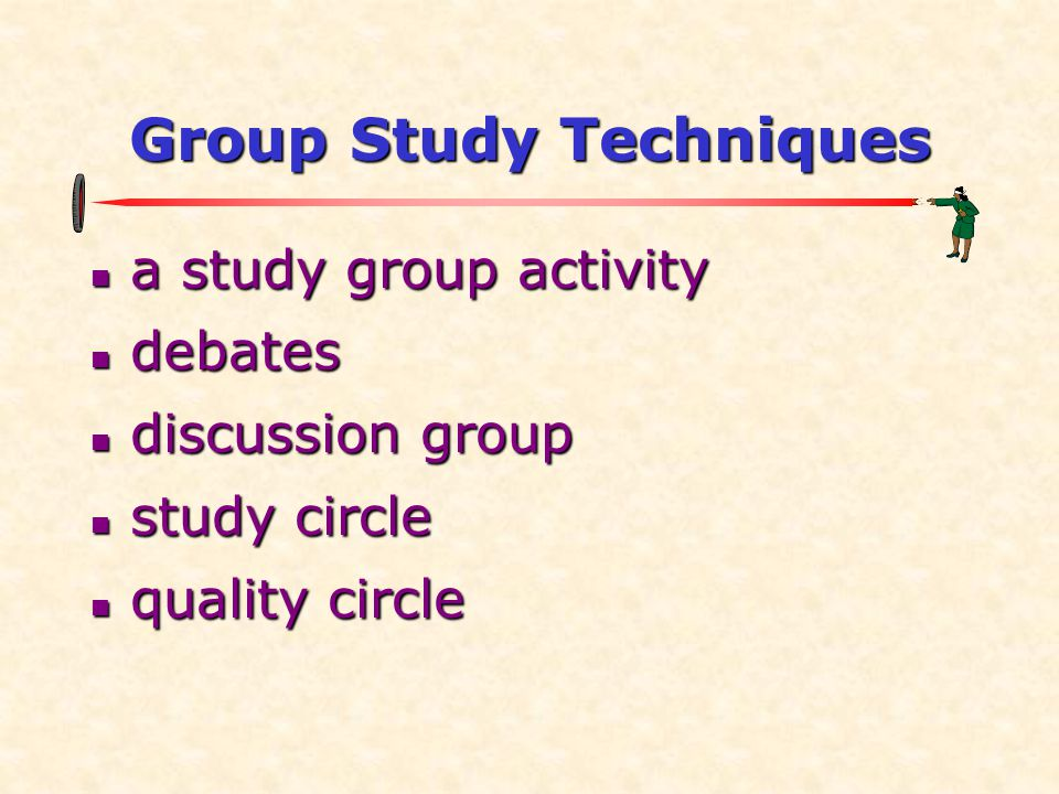 Group Study Techniques