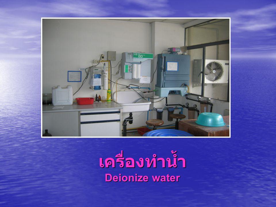 เครื่องทำน้ำ Deionize water