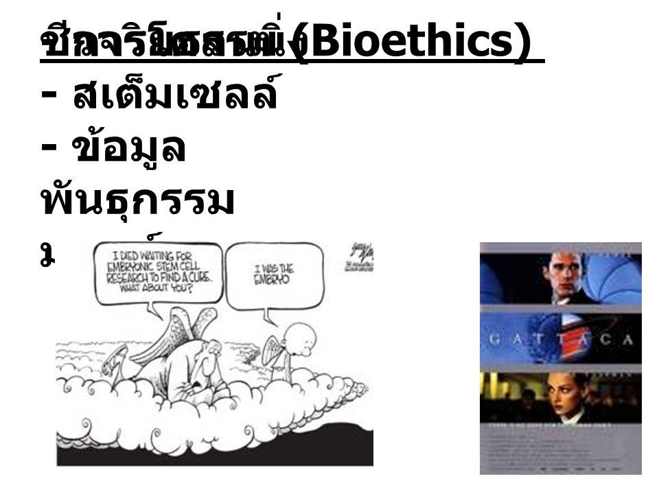 ชีวจริยธรรม (Bioethics)