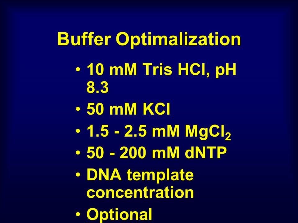 Buffer Optimalization