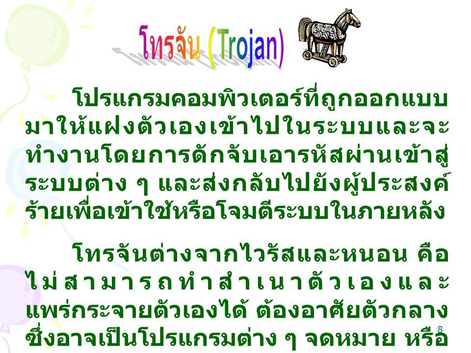 โทรจัน (Trojan)