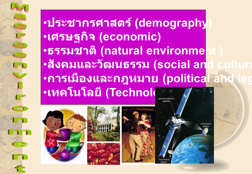 ประชากรศาสตร์ (demography)