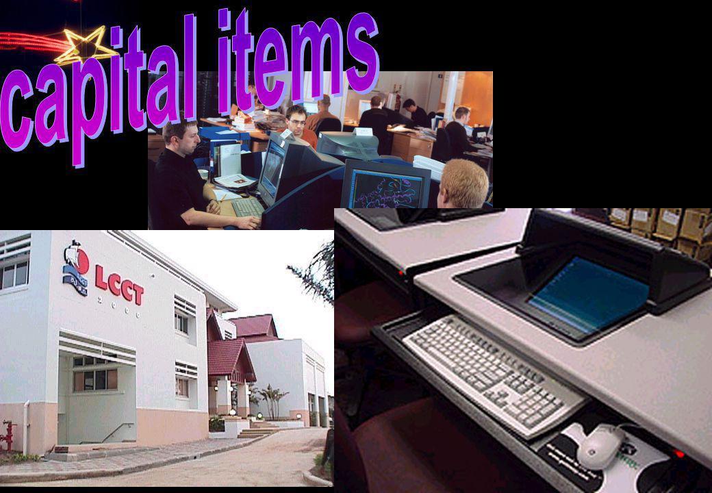 capital items