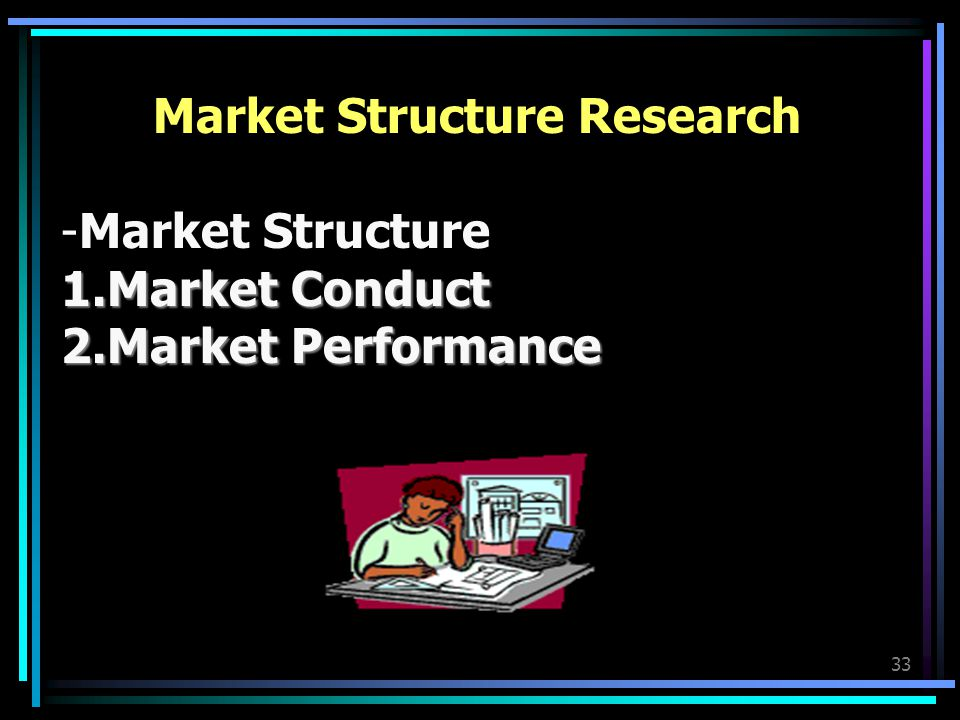 Market Structure Research