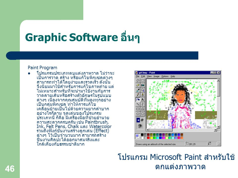 Graphic Software อื่นๆ