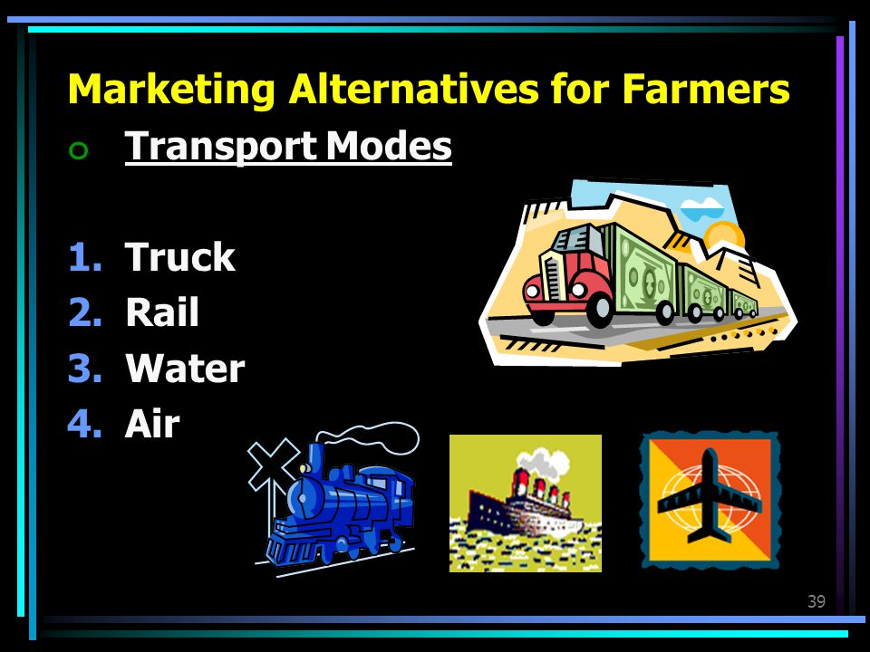 Marketing Alternatives for Farmers
