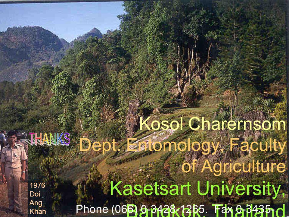 Phone (066) 0-3428-1265. Fax 0-3435-1881. E-mail: agrkoc@ku.ac.th