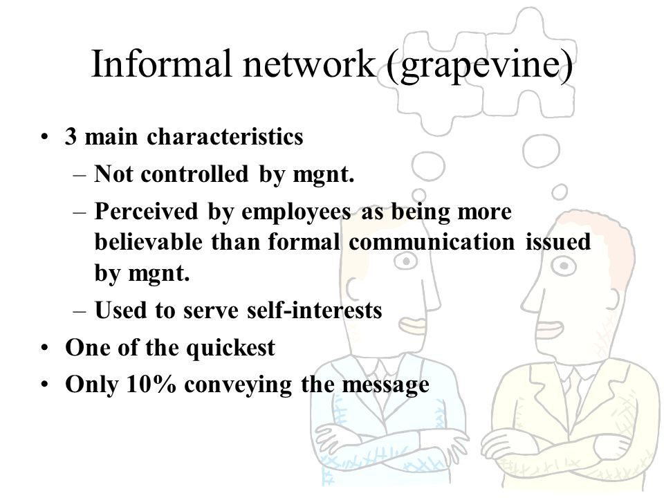 Informal network (grapevine)