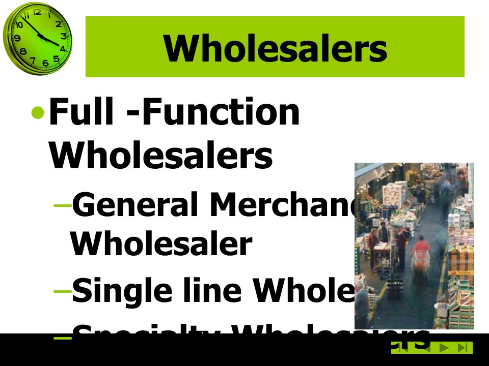 Full -Function Wholesalers