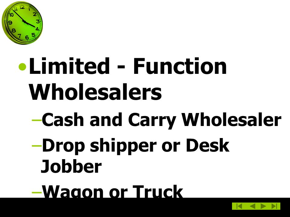 Limited - Function Wholesalers