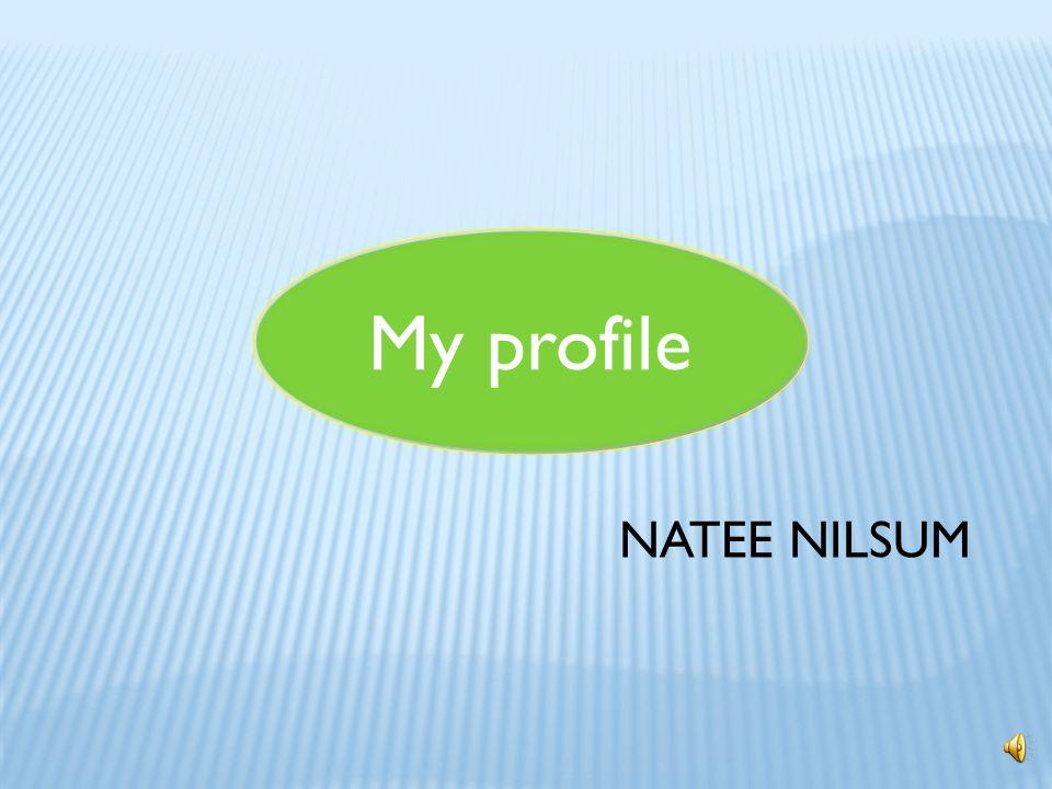 My profile NATEE NILSUM