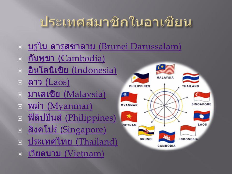 ประเทศสมาชิกในอาเซียน