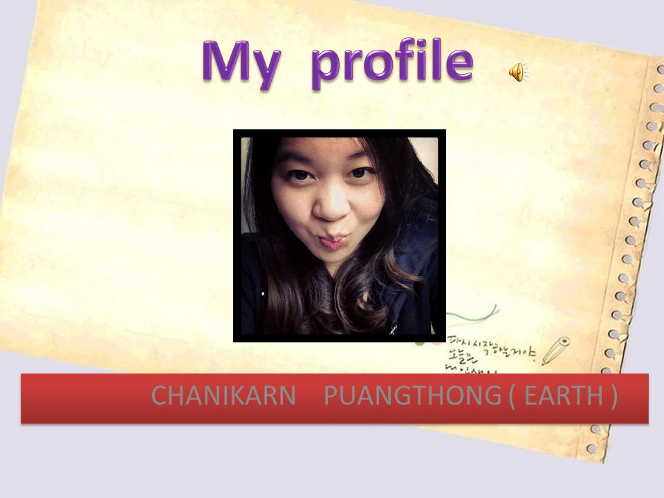 CHANIKARN PUANGTHONG ( EARTH )