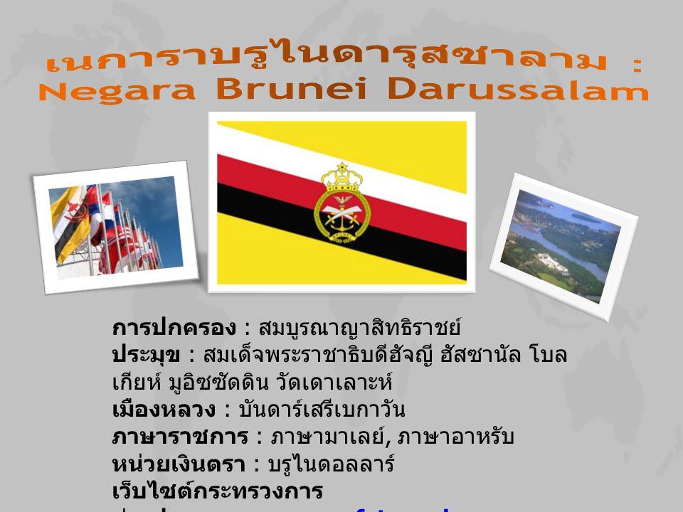 เนการาบรูไนดารุสซาลาม : Negara Brunei Darussalam