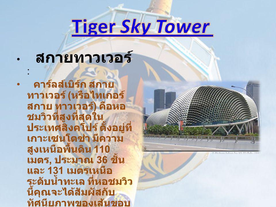 Tiger Sky Tower สกายทาวเวอร์ :
