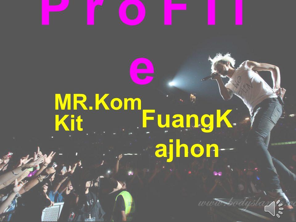 P r o F I l e MR.KomKit FuangKajhon