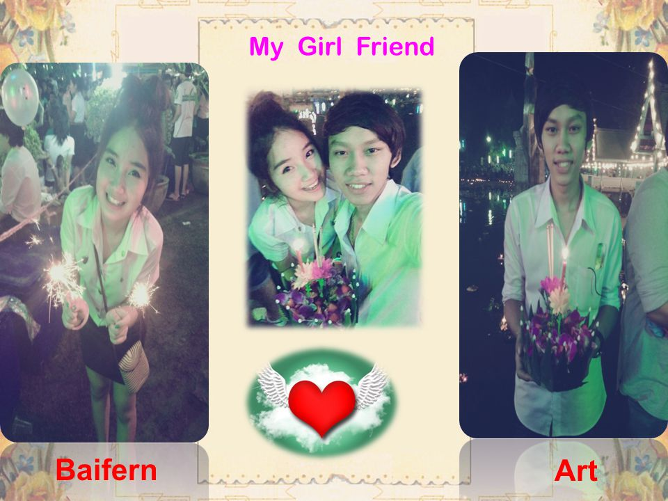 My Girl Friend Baifern Art
