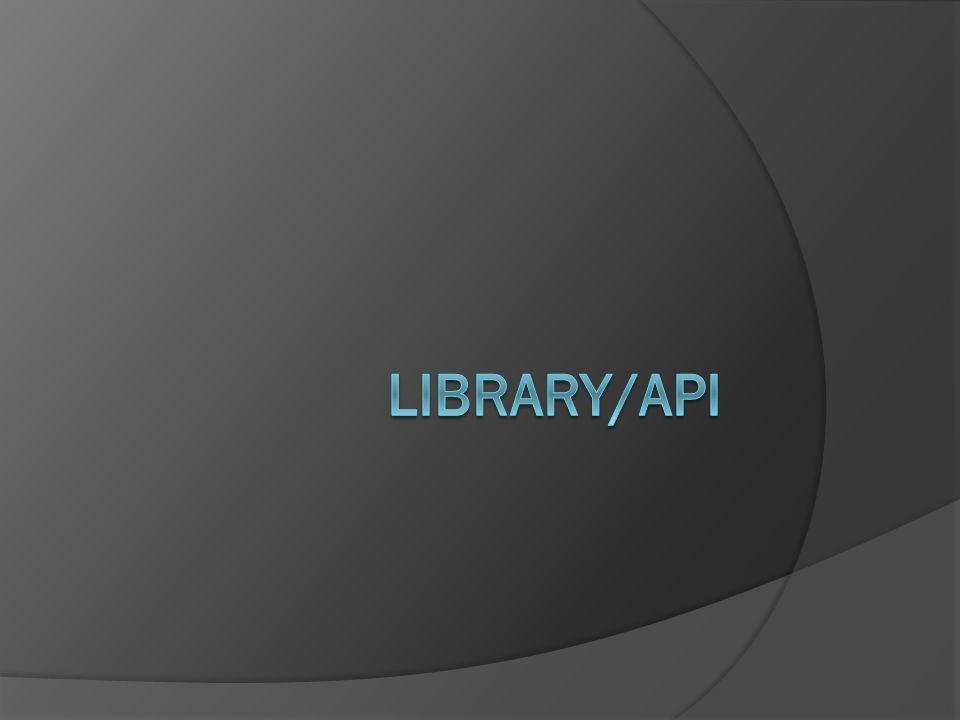 Library/API