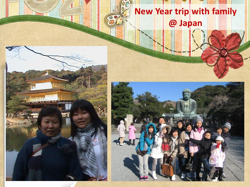 New Year trip with family @ Japan