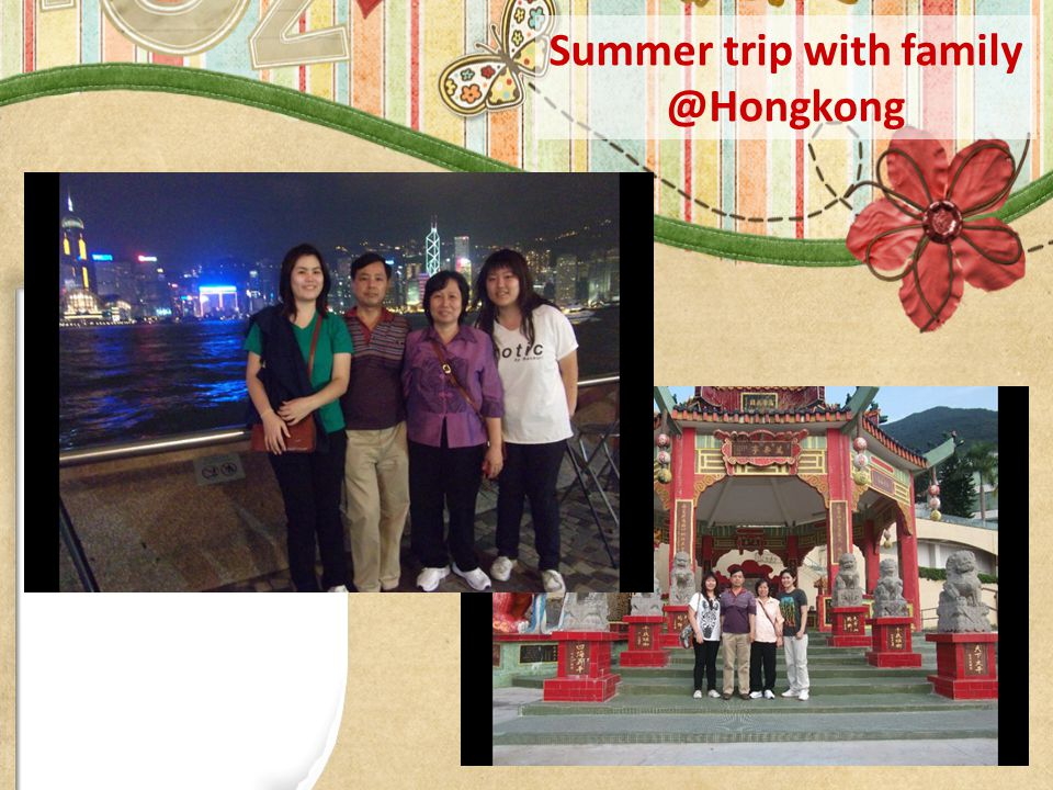 Summer trip with