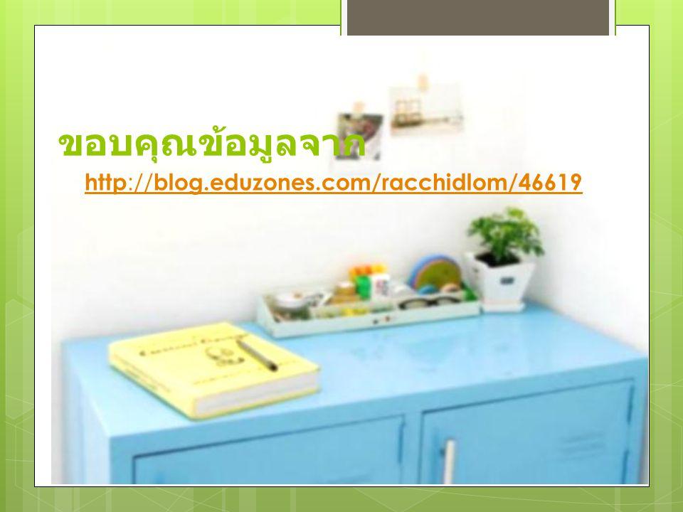ขอบคุณข้อมูลจาก http://blog.eduzones.com/racchidlom/46619