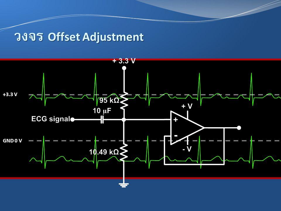 วงจร Offset Adjustment