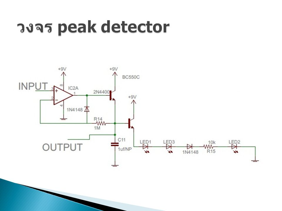 วงจร peak detector