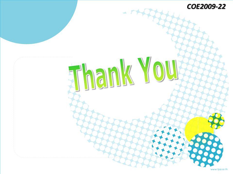 COE2009-22 Thank You