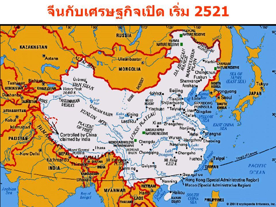 จีนกับเศรษฐกิจเปิด เริ่ม 2521