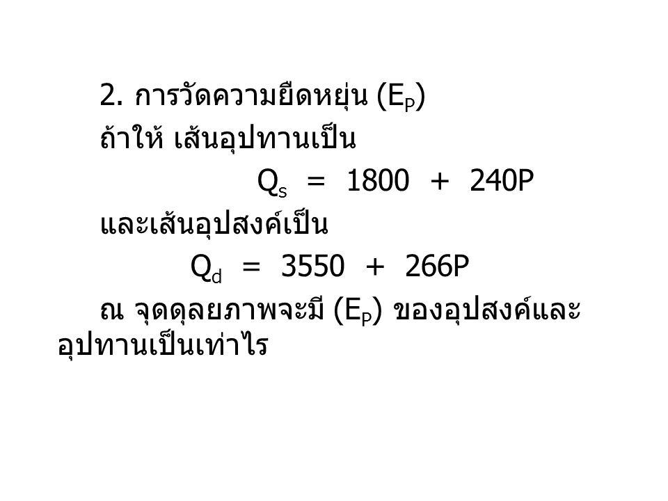 2. การวัดความยืดหยุ่น (EP)