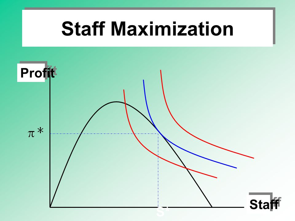 Staff Maximization Profit Staff S*